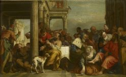 The Magdalen Anointing Christ's Feet | Sebastiano Ricci | Oil Painting