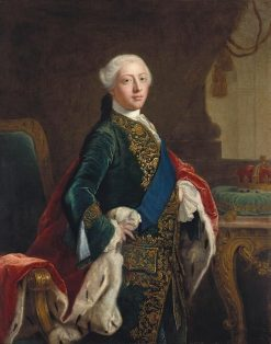 George III (1738-1820) when Prince of Wales | Sir Joshua Reynolds | Oil Painting