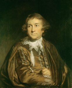 David Garrick (1717-1779) | Sir Joshua Reynolds | Oil Painting