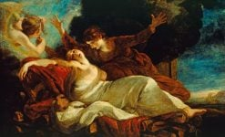 The Death of Dido | Sir Joshua Reynolds | Oil Painting