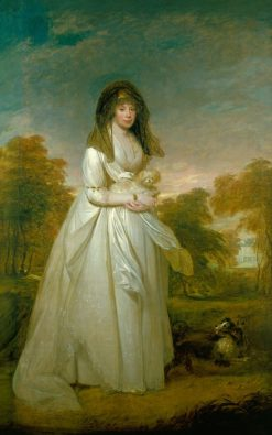 Queen Charlotte (1744-1818) | Sir William Beechey | Oil Painting