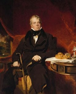 Sir Walter Scott (1771-1832) | Thomas Lawrence | Oil Painting