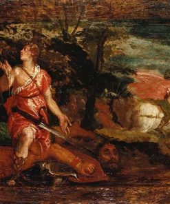 David Victorious over Goliath | Veronese | Oil Painting