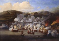The Attack on the French Ships at Martinique