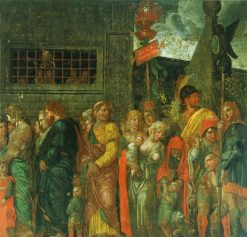 The Triumphs of Caesar - The Captives | Andrea Mantegna | Oil Painting