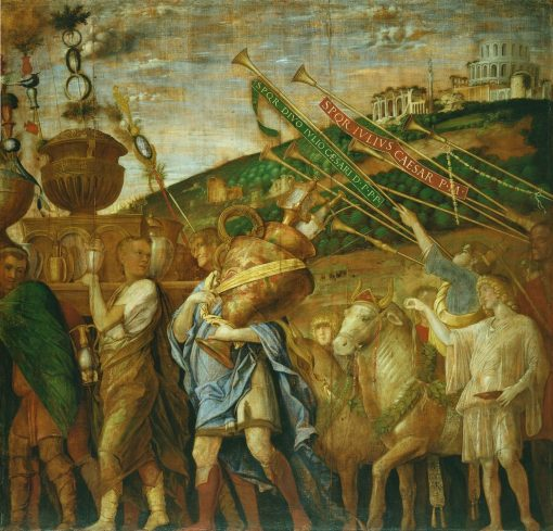 The Triumphs of Caesar - The Vase Bearers | Andrea Mantegna | Oil Painting