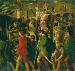 The Triumphs of Caesar - The Corselet Bearers | Andrea Mantegna | Oil Painting