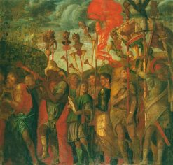 The Triumphs of Caesar - The Musicians | Andrea Mantegna | Oil Painting