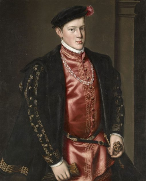 John Prince of Portugal (1537-54) | Anthonis Mor | Oil Painting