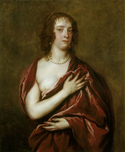 Margaret Lemon | Anthony van Dyck | Oil Painting