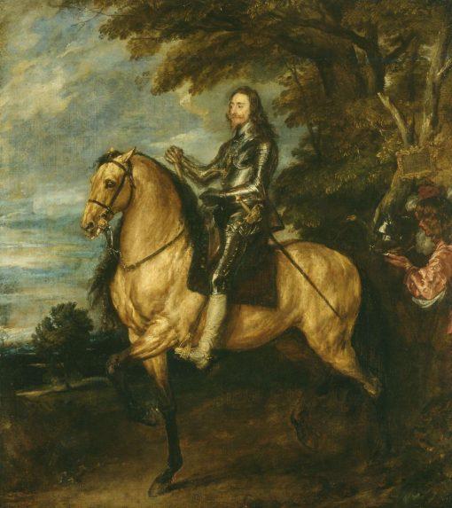 Charles I (1600-1649) on Horseback | Anthony van Dyck | Oil Painting
