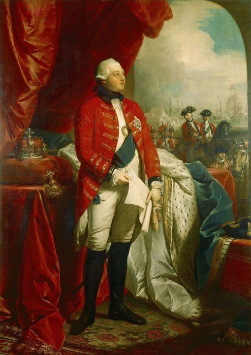 George III | Benjamin West | Oil Painting