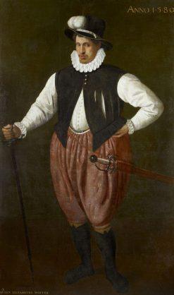A Giant Porter | Cornelis Ketel | Oil Painting