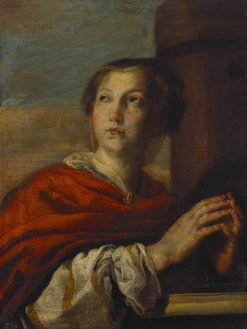 Saint Barbara | Domenico Fetti | Oil Painting