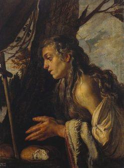 Saint Mary of Egypt   Domenico Fetti   Oil Painting