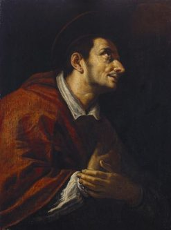 Saint Charles Borromeo (1538-1584) | Domenico Fetti | Oil Painting
