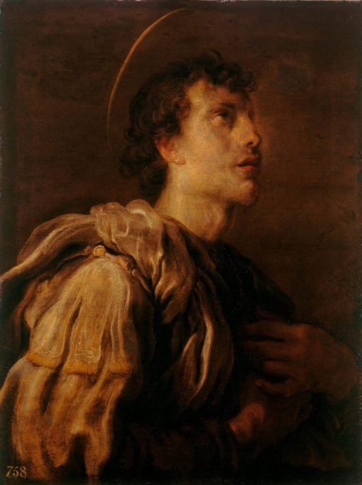 A Young Male Saint | Domenico Fetti | Oil Painting
