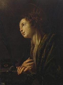 Saint Catherine of Alexandria | Domenico Fetti | Oil Painting