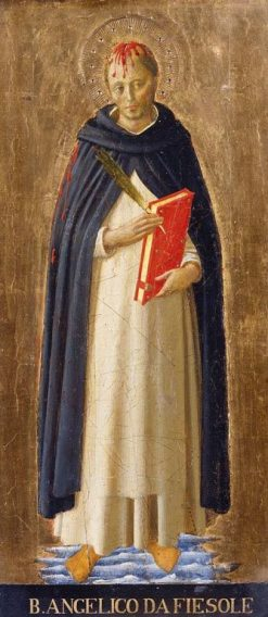 Saint Peter Martyr   Fra Angelico   Oil Painting