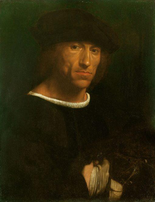 Portrait of a Man with a Hawk | Giovanni Girolamo Savoldo | Oil Painting