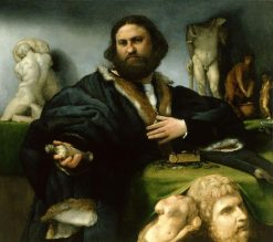 Andrea Odoni | Lorenzo Lotto | Oil Painting