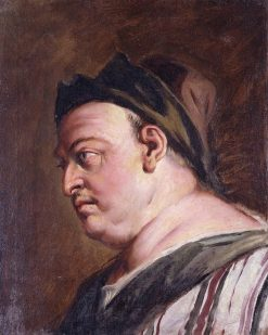 Head of a Man in Profile (A Steward?) | Sebastiano Ricci | Oil Painting