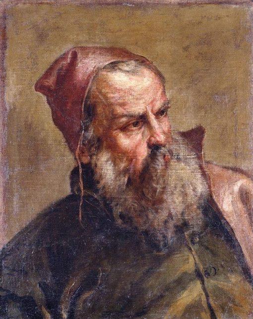 Head of an Old Man (A Publican?) | Sebastiano Ricci | Oil Painting