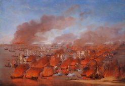 The Burning of Dutch Merchant Ships between Terschelling and Vlieland