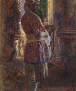 The Munshi Abdul Karim (1863-1909) | Laurits Tuxen | Oil Painting