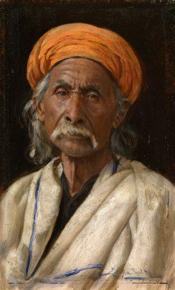 Bakshiram   Rudolph Swoboda   Oil Painting