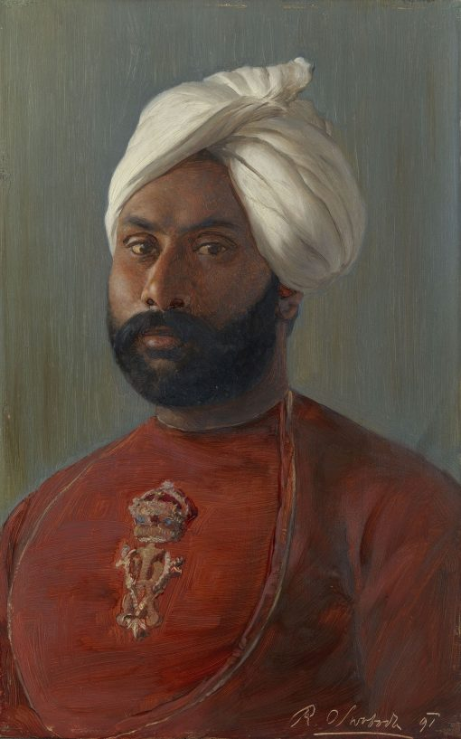 Ahmad Khan (d. 1914) | Rudolph Swoboda | Oil Painting