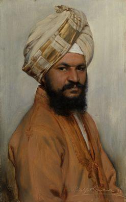Bhai Ram Singh   Rudolph Swoboda   Oil Painting