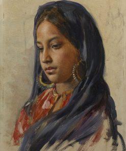 Gulzar   Rudolph Swoboda   Oil Painting