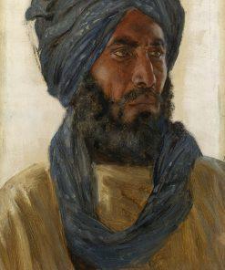 Golchan Khan   Rudolph Swoboda   Oil Painting