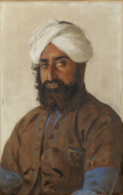 Bahar Shah   Rudolph Swoboda   Oil Painting