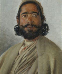 Hassan Khan   Rudolph Swoboda   Oil Painting