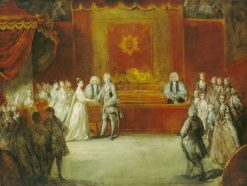 The Marriage of George III | Sir Joshua Reynolds | Oil Painting