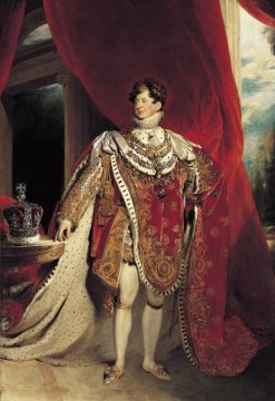 Coronation Portrait of King George IV | Thomas Lawrence | Oil Painting