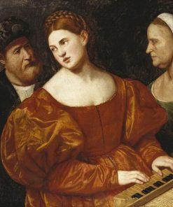 A Concert | Bernardino Licinio | Oil Painting