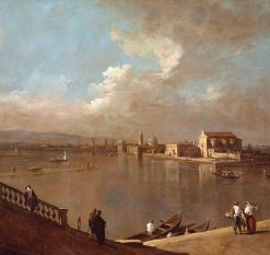 View Towards Murano from the Fondamenta Nuove | Canaletto | Oil Painting