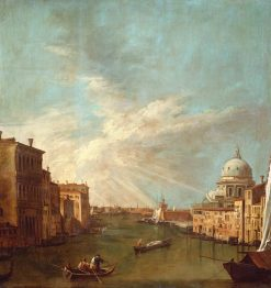 Venice: The Grand Canal Towards the Bacino