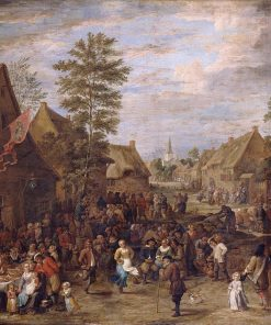 A Kermis on St George's Day | David Teniers II | Oil Painting