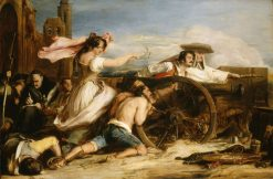 The Defence of Saragossa | David Wilkie | Oil Painting