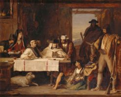 The Spanish Posada: A Guerilla Council of War | David Wilkie | Oil Painting