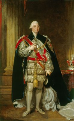 George III (1738-1820) | Gainsborough Dupont | Oil Painting