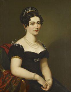Victoria Duchess of Kent   George Dawe   Oil Painting
