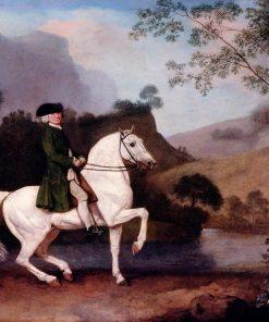 Sir Sidney Meadows (1701-92) | George Stubbs | Oil Painting