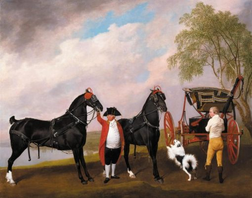 The Prince of Wales's Phaeton | George Stubbs | Oil Painting