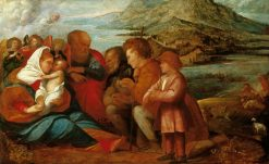 Adoration of the Shepherds | Giovanni Cariani | Oil Painting
