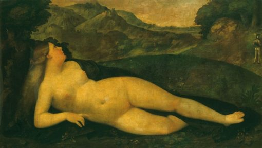 Venus in a Landscape | Giovanni Cariani | Oil Painting